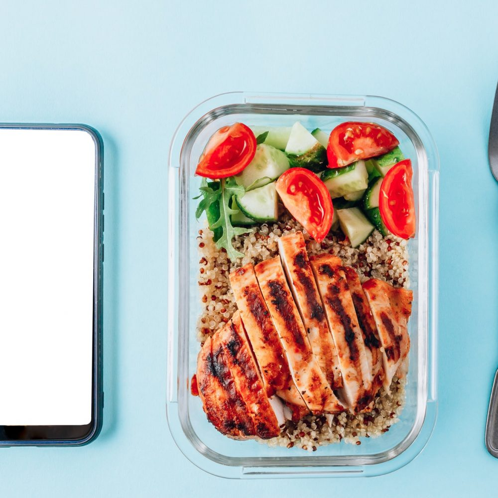 Healthy meal container